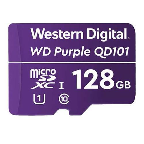 WD Storage 128GB MicSD Purple