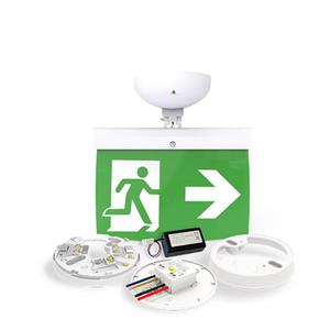 20m Exit Sign Kit, RIGHT arrow