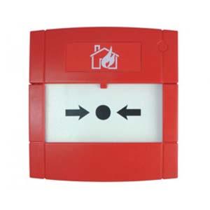 Larmknapp MCP 4A, Röd, 2 vxl,