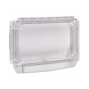 STI Säkerhetsskydd - Polycarbonate, Rostfritt stål - Clear