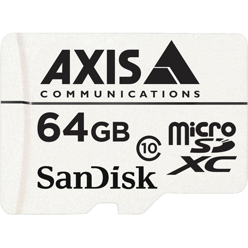 AXIS SURVEILLANCE CARD64GB 10P