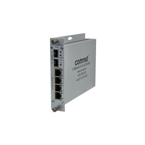 ComNet 4p  Self Man PoE Switch