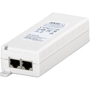 AXIS T8120 PoE Injector - 110 V AC, 220 V AC Indata - 48 V DC Utdata - 1 10/100/1000Base-T Output Port(s) - 15 W