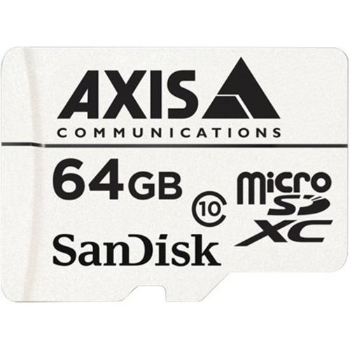 AXIS 64 GB microSDXC - Class 10 - 20 MB/s Läs - 20 MB/s Skriv