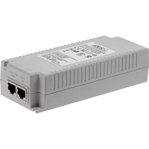 AXIS T8134 PoE Injector - 110 V AC, 230 V AC Indata - 55 V DC Utdata - 10/100/1000Base-T Input Port(s) - 10/100/1000Base-T Output Port(s) - 60 W