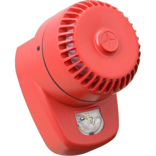 Eaton RoLP LX Säkerhetslarm - 60 V DC - 102 dB(A) - Hörbar - Röd, Röd