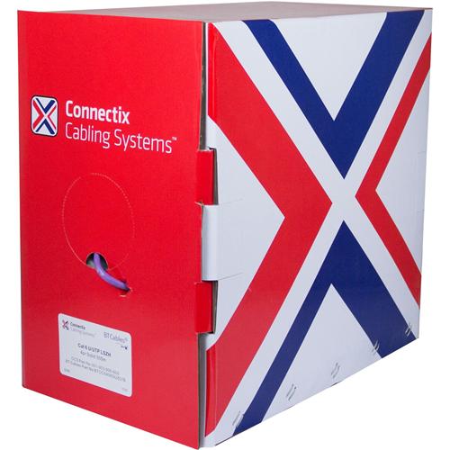 Connectix Kat 6 Nätverkskabel för Nätverksenhet - 305 m - Bare Wire - Bare Wire