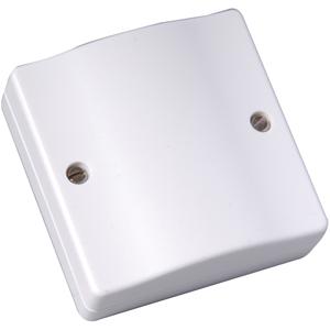 CQR Kopplingsbox - Sabotageskyddad - Skruvterminaler - Vit