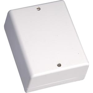 CQR JB737 Kopplingsbox - 24 Skruvterminaler - Sabotageskyddad - Plast - Vit