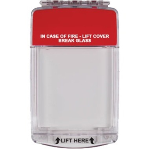 STI Euro Stopper STI-15020ML Säkerhetsskydd - Indoor - Polycarbonate - Röd