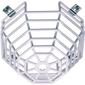 STI Steel Web Stopper STI-9605 Säkerhetsskydd för Rökvarnare - Rostfritt stål - Vit