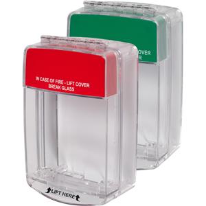 STI Euro Stopper STI-15C10ML Säkerhetsskydd - Polycarbonate - Röd, Grön