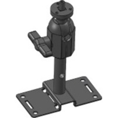 Videofied Monteringskonsol för Övervakningskamera - 11,34 kg Belastningskapacitet - Svart