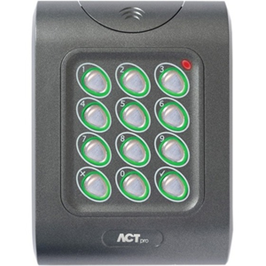 ACT ACTPRO 1050E - Door - Närheten - Wiegand - 12 V DC - Flush Mount