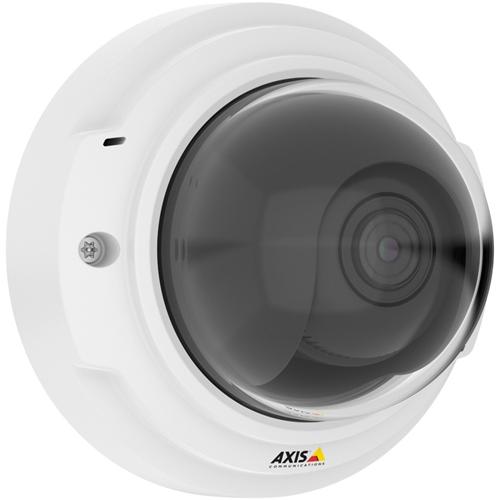 AXIS P3375-V Nätverkskamera - Färg - H.264, Motion JPEG - 1920 x 1080 - 3 mm - 10 mm - 3,3x Optical - Kabel - Kupol