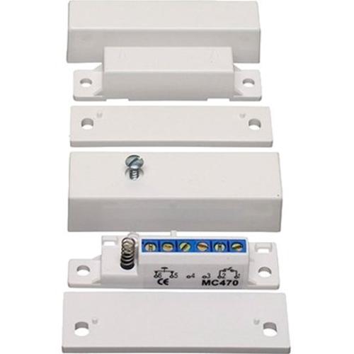 Alarmtech MC 470 - For Door - Vit, Brown