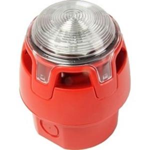 KAC 12-29 V - 107 dB - Hörbar - IP65 - Röd, Röd