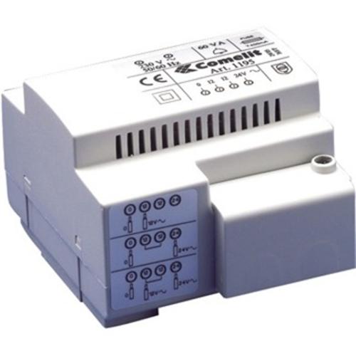 Comelit Step Down Transformer - 60 VA - 230 V AC Indata - 12 V AC, 24 V AC Utdata