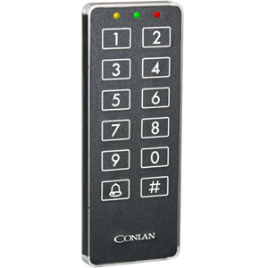 Conlan CT2000 - Svart - Door - 100 User(s) - Seriell - 12 V DC