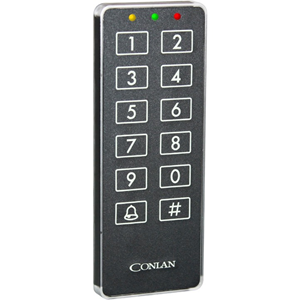 Conlan CT2000 - Svart - Door - 190 User(s) - Seriell - 24 V DC