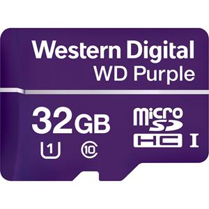 WD Purple WDD032G1P0A 32 GB microSDHC - 100 MB/s Läs - 60 MB/s Skriv