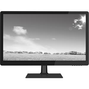 """W Box WBXMP1854 47 cm (18,5"""") LCD-skärm - 16:9 - 9 ms - 1360 x 768 - 16,7 miljoner färger - 200 cd/m² - 50,000:1 - HD - Högtalare - HDMI - VGA - Glättat svart, Matte Black"""