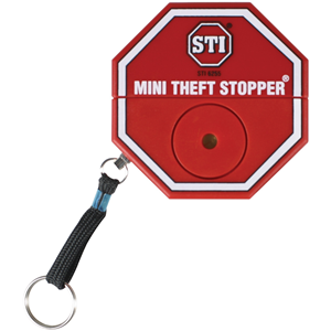 STI Brandsläckningslarm - 105 dB - Hörbar - Röd