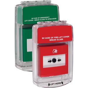 STI Euro Stopper Säkerhetsskydd - Indoor - Polycarbonate - Röd, Grön