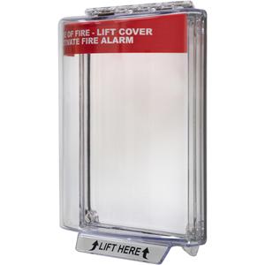 STI Universal Stopper STI-13010FR Säkerhetsskydd - Indoor, Outdoor - Polycarbonate - Röd