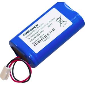 Hochiki Batteri - Litiumpolymer (Li-Polymer) - För Lighting - Laddningsbart batteri - 7,40 V - 2950 mAh