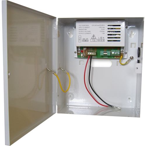 W Box WBXPSU3A12V Nätaggregat - Extern - 120 V AC, 230 V AC Indata