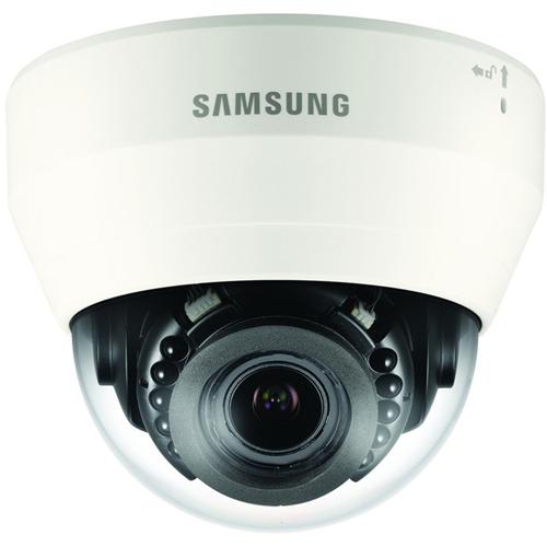Wisenet QND-7080R 4 Megapixel Nätverkskamera - Dome - 20 m Night Vision - H.264, H.265, MJPEG - 2592 x 1520 - 4,3x Optical - CMOS - Väggmonterad, Takmonterad, Stångmontering