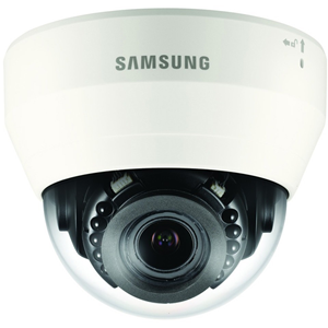 Wisenet QND-7080R 4 Megapixel Nätverkskamera - Kupol - 20 m Night Vision - H.264, H.265, MJPEG - 2592 x 1520 - 4,3x Optical - CMOS - Väggmonterad, Takmonterad, Stångmontering