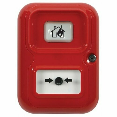 STI AP-4-R-A Manuell samtalspunkt - Röd