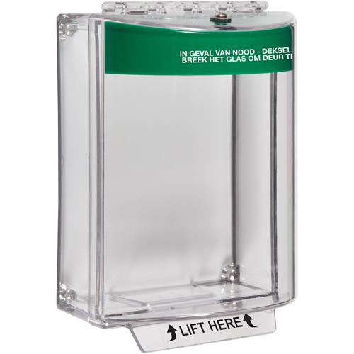 STI Universal Stopper Säkerhetsskydd - Indoor, Outdoor - Polycarbonate - Grön