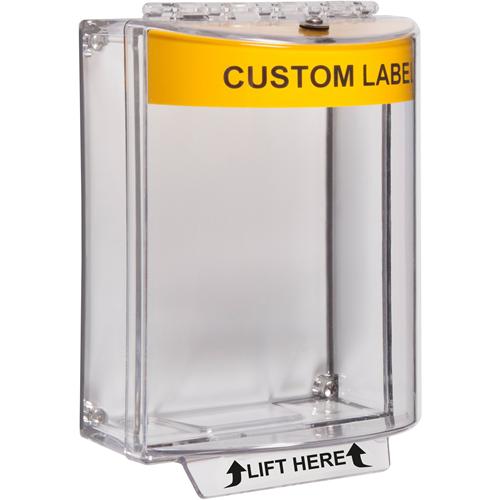 STI Universal Stopper Säkerhetsskydd - Indoor, Outdoor - Polycarbonate - Gul
