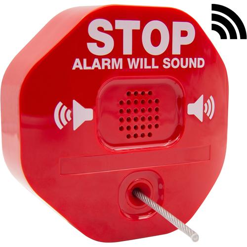STI Brandsläckningslarm - Trådlös - 105 dB - Hörbar - Röd
