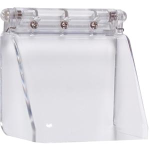 STI STI-6514 Säkerhetsskydd för Fingerprint Reader - Vandaliseringsresistent - Polycarbonate, Rostfritt stål - Clear