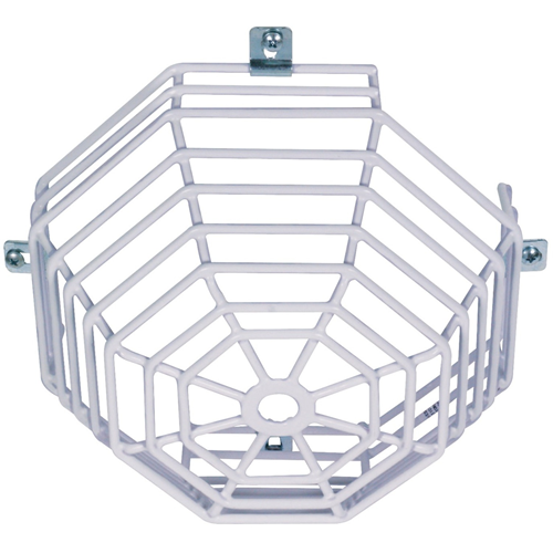 STI Steel Web Stopper STI-9602 Säkerhetsskydd för Rökvarnare - Rostfritt stål, Polyester, Plast - Vit