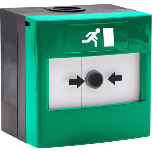 STI WRP2-G-11 Manuell samtalspunkt - Grön